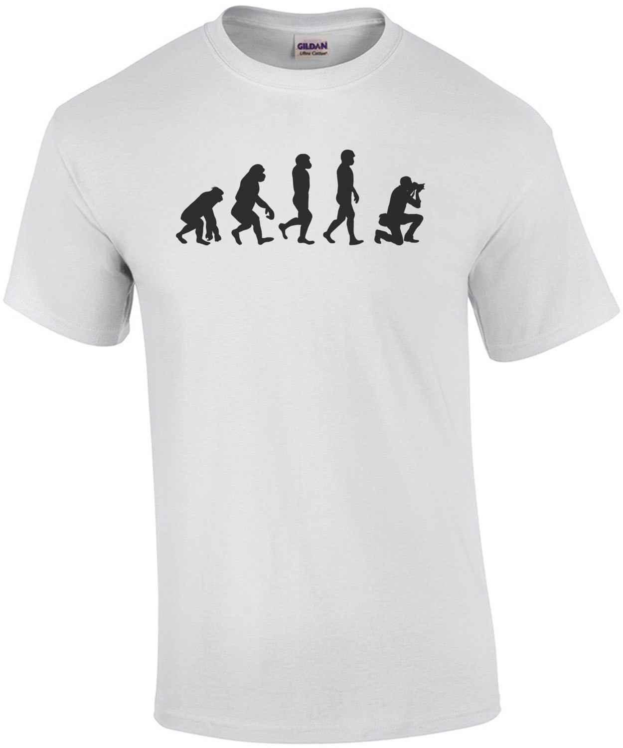 Evolution of the Photographer - T-Shirt