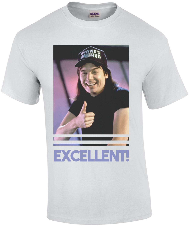 Excellent! Wayne's World - 90's T-Shirt