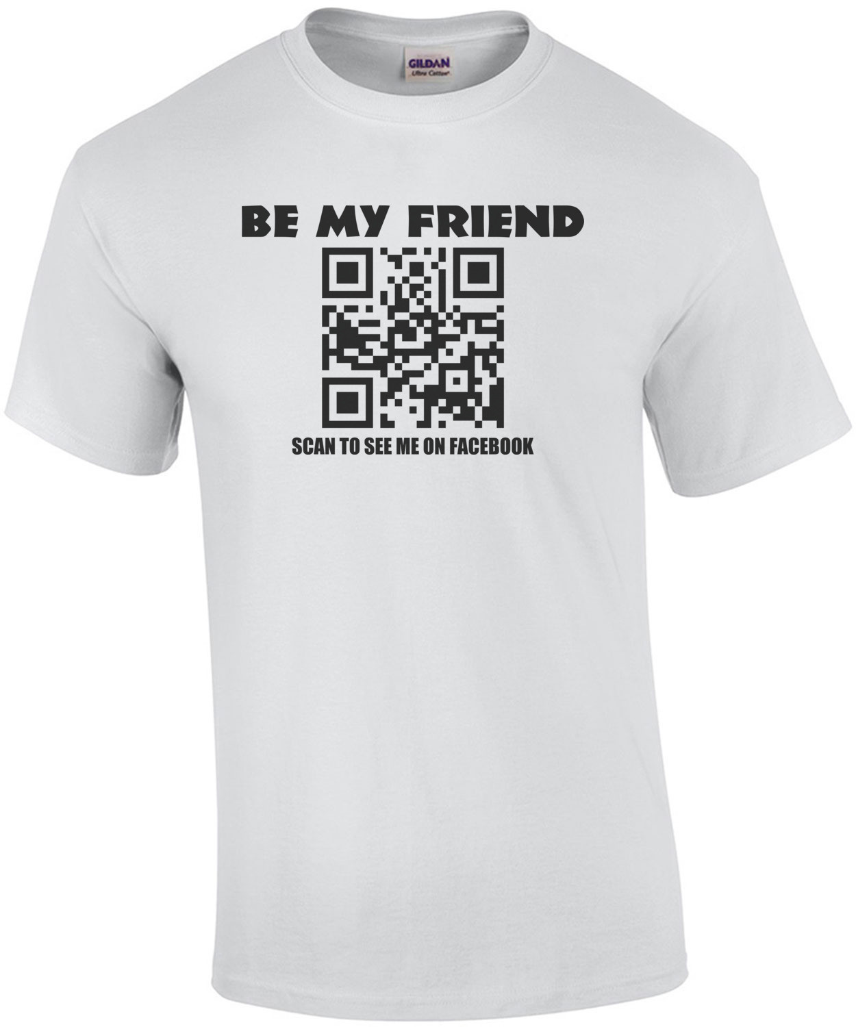 Facebook Be My Friend Shirt
