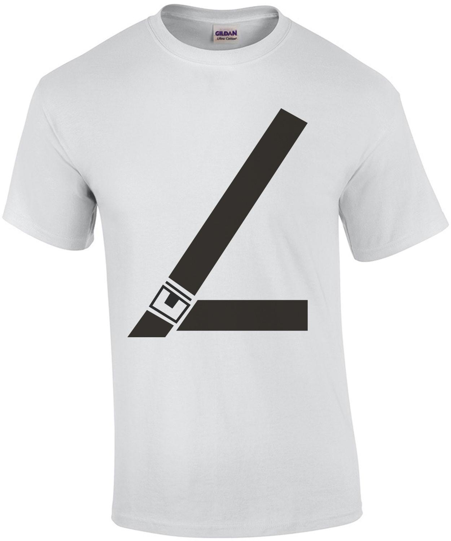 Fake Seat Belt T-Shirt
