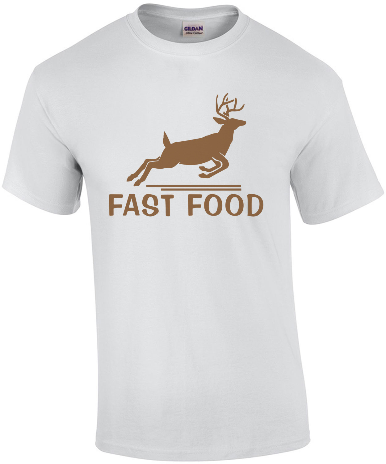 Fast Food - Funny Hunting T-Shirt