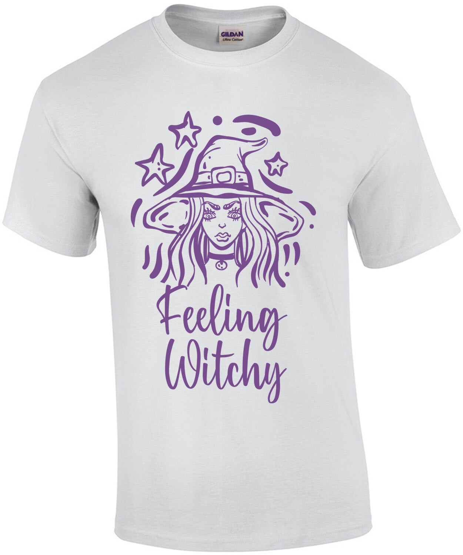 Feeling Witchy - Girl's Halloween Shirt