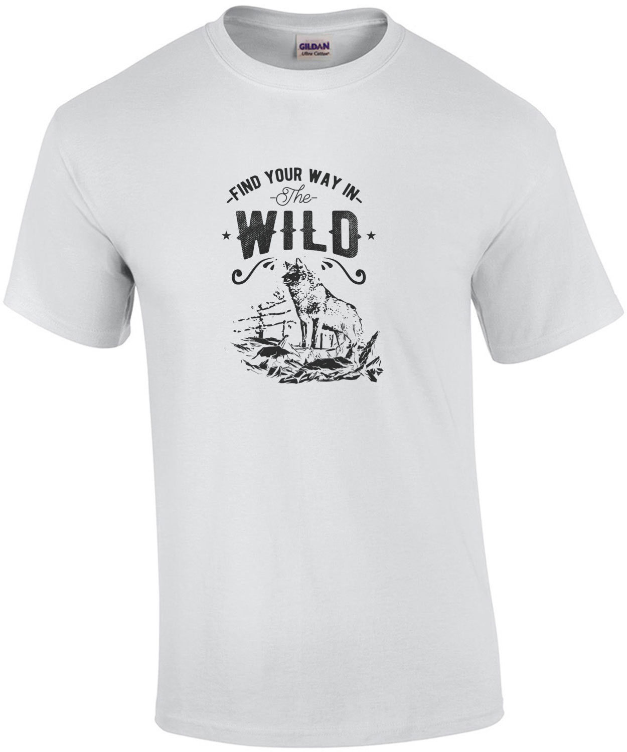 Find Your Way In The Wild Outdoorsy T-Shirt