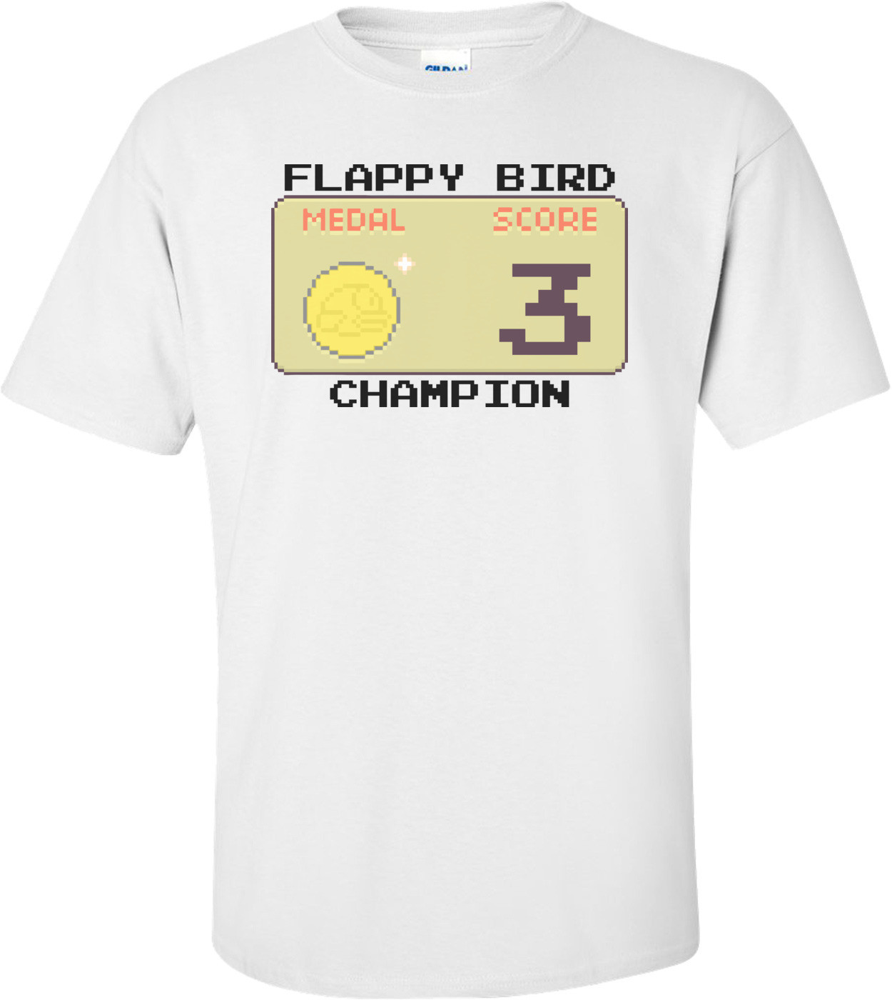 Flappy Bird Champion Shirt