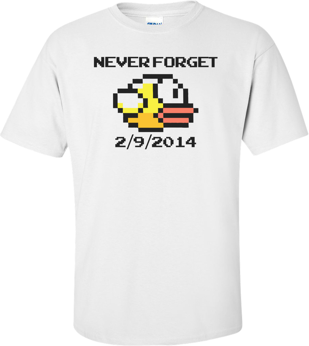 Flappy Birds Never Forget Shirt