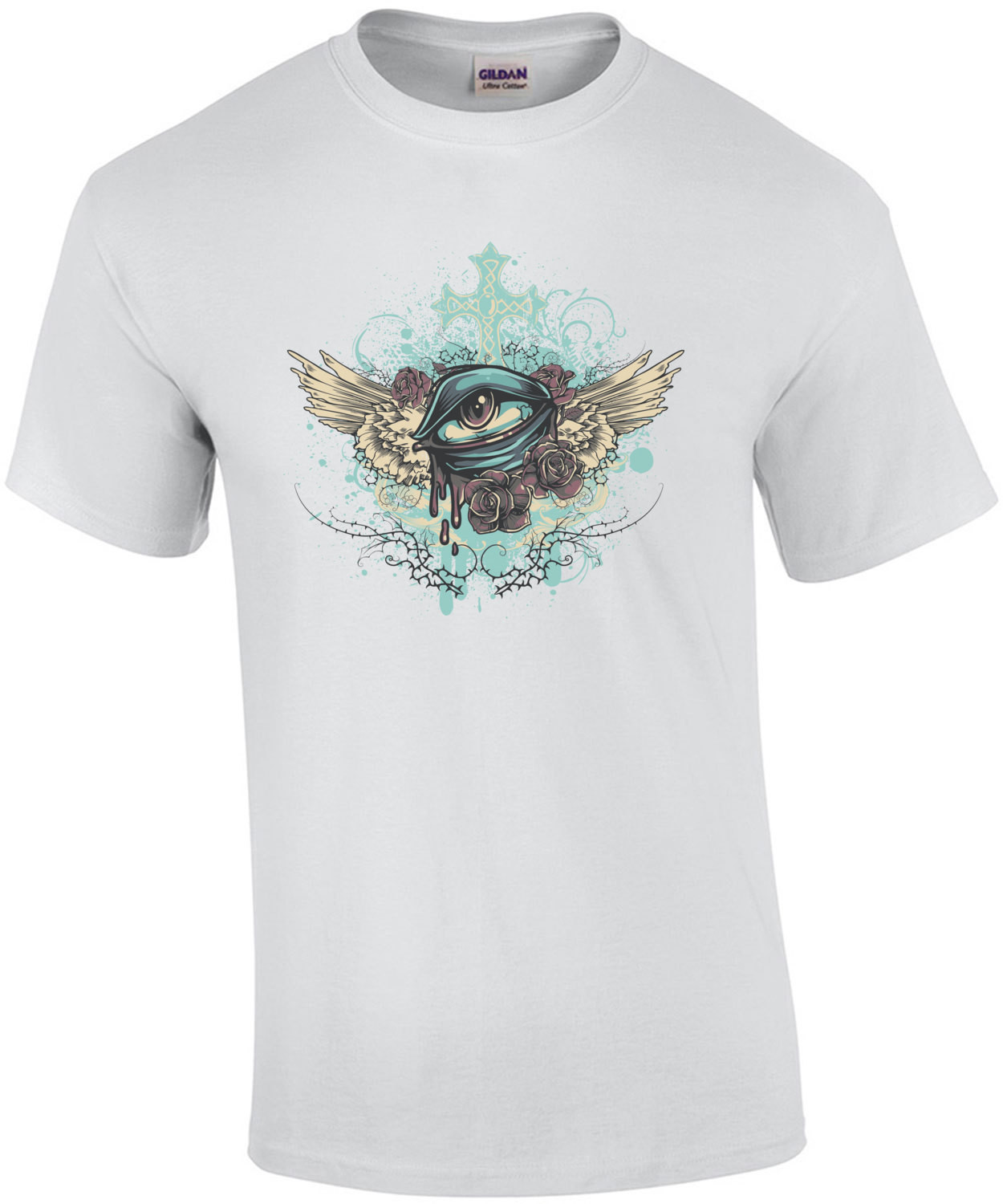 Floating Eye Christian Graphic T-Shirt