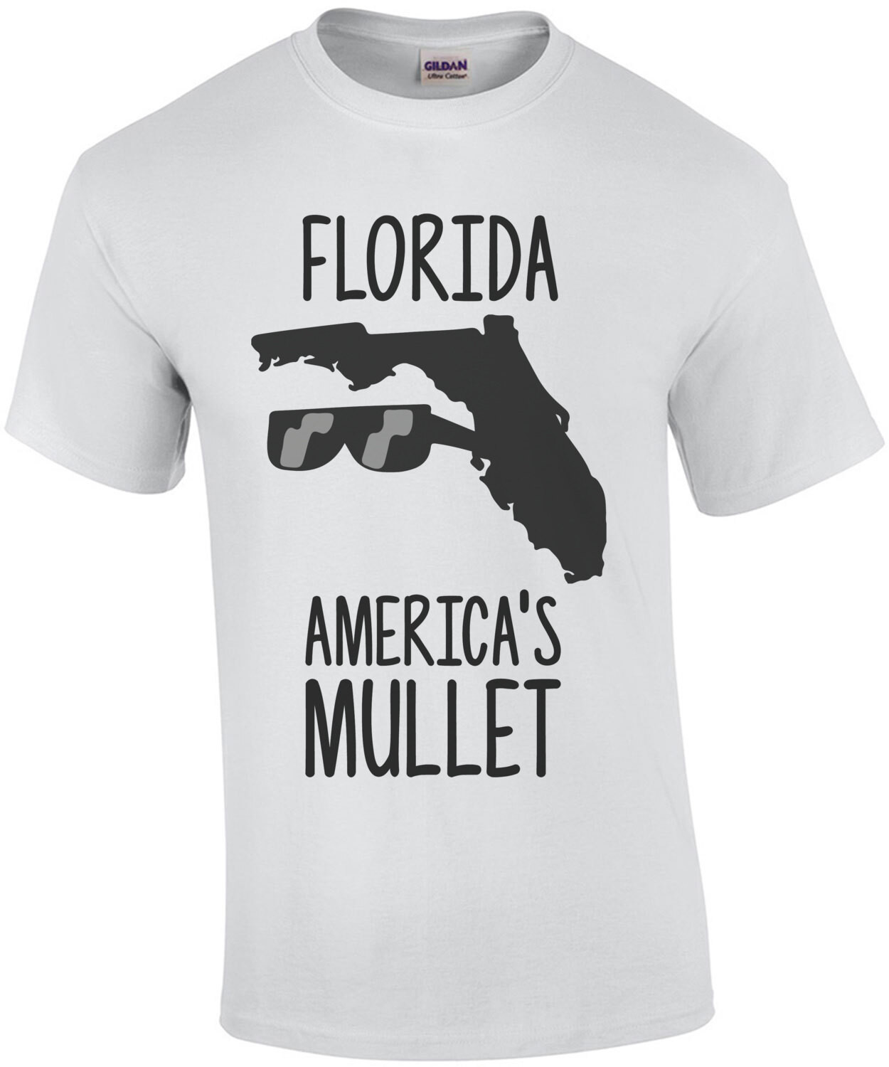 Florida - America's mullet funny florida t-shirt