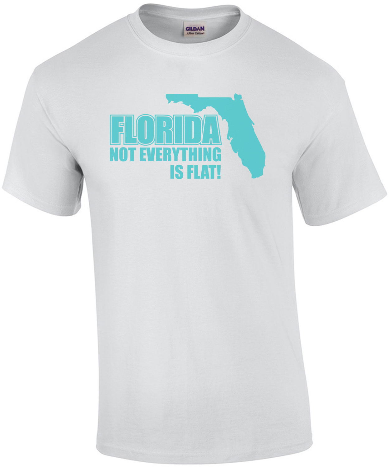 Florida Not Everything Is Flat T-shirt