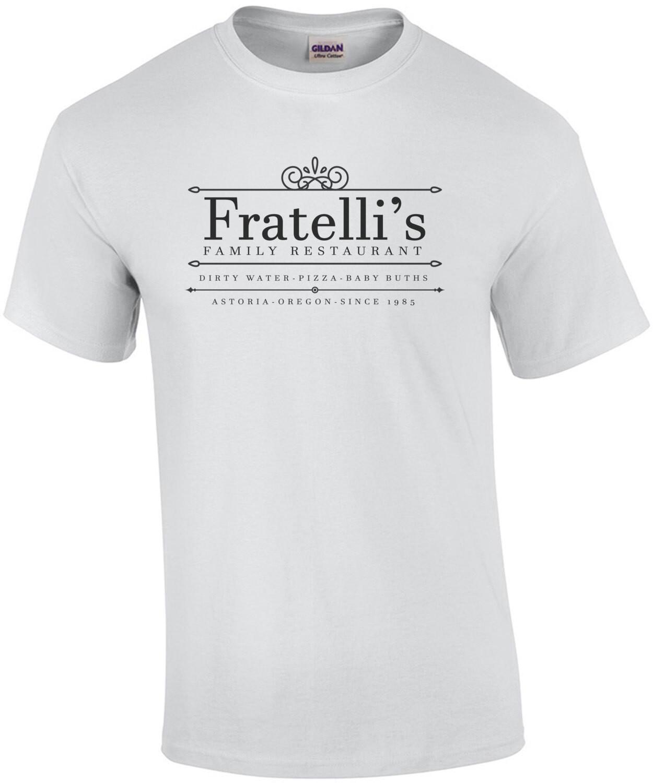 Fratelli's Family Restaurant - The Goonies - 80's T-Shirt