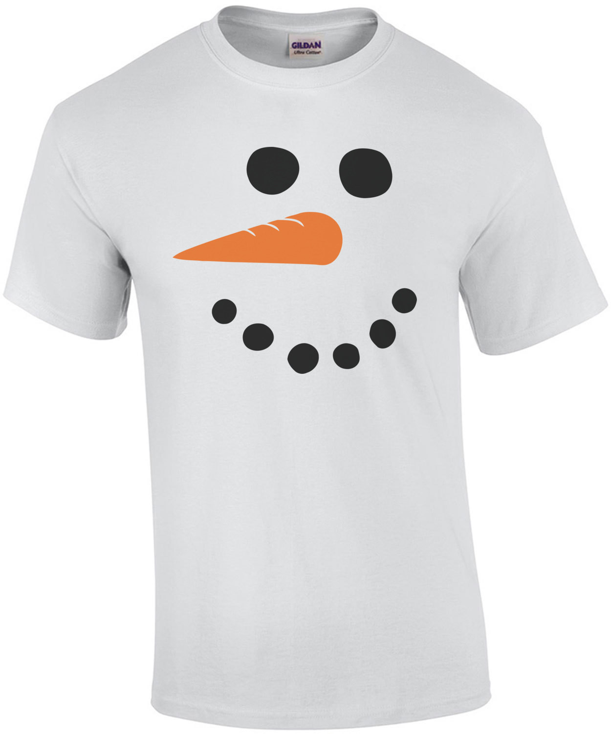 Funny And Cute Kid's Snowman T-shirt