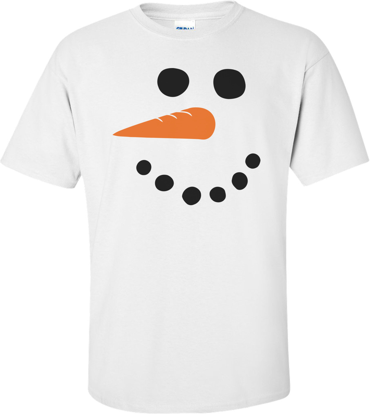 Funny And Cute Snowman T-shirt