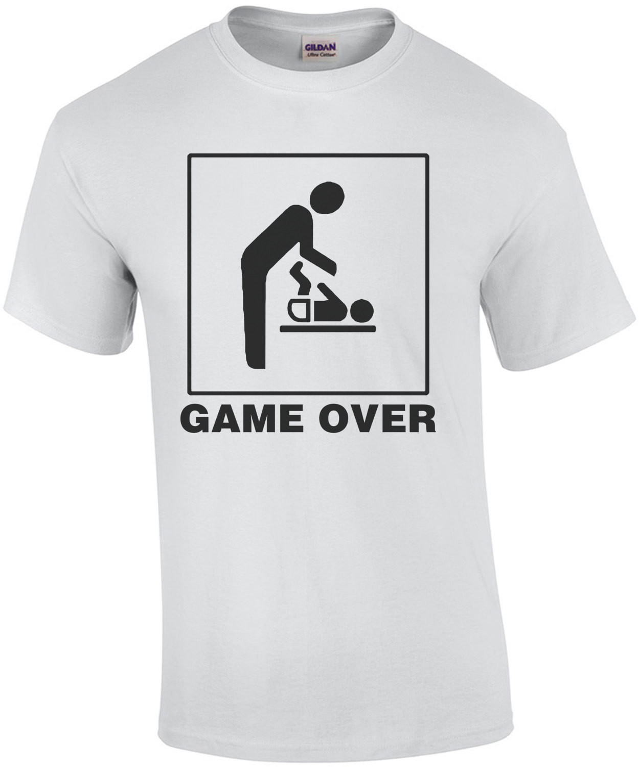 Game Over Newborn Tee
