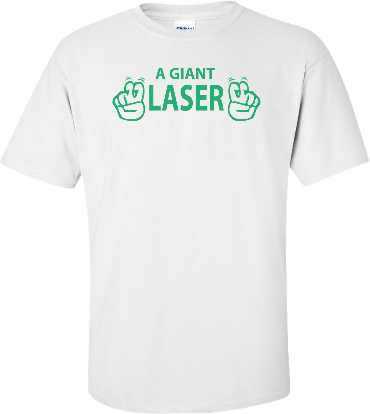 Giant Laser Dr. Evil T-shirt