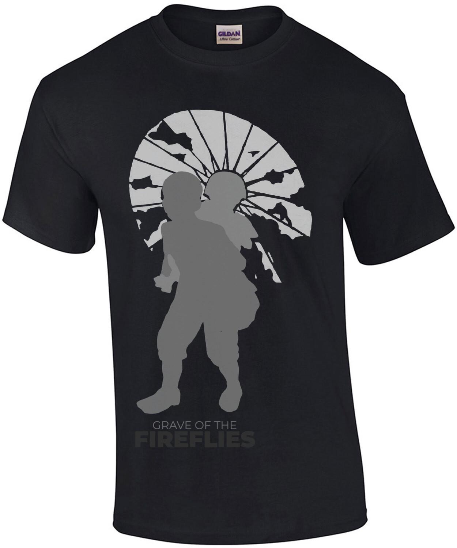 Grave of fireflies - 80's t-shirt