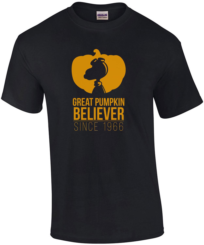 Great Pumpkin Believer - Since 1966 - Funny Halloween T-Shirt