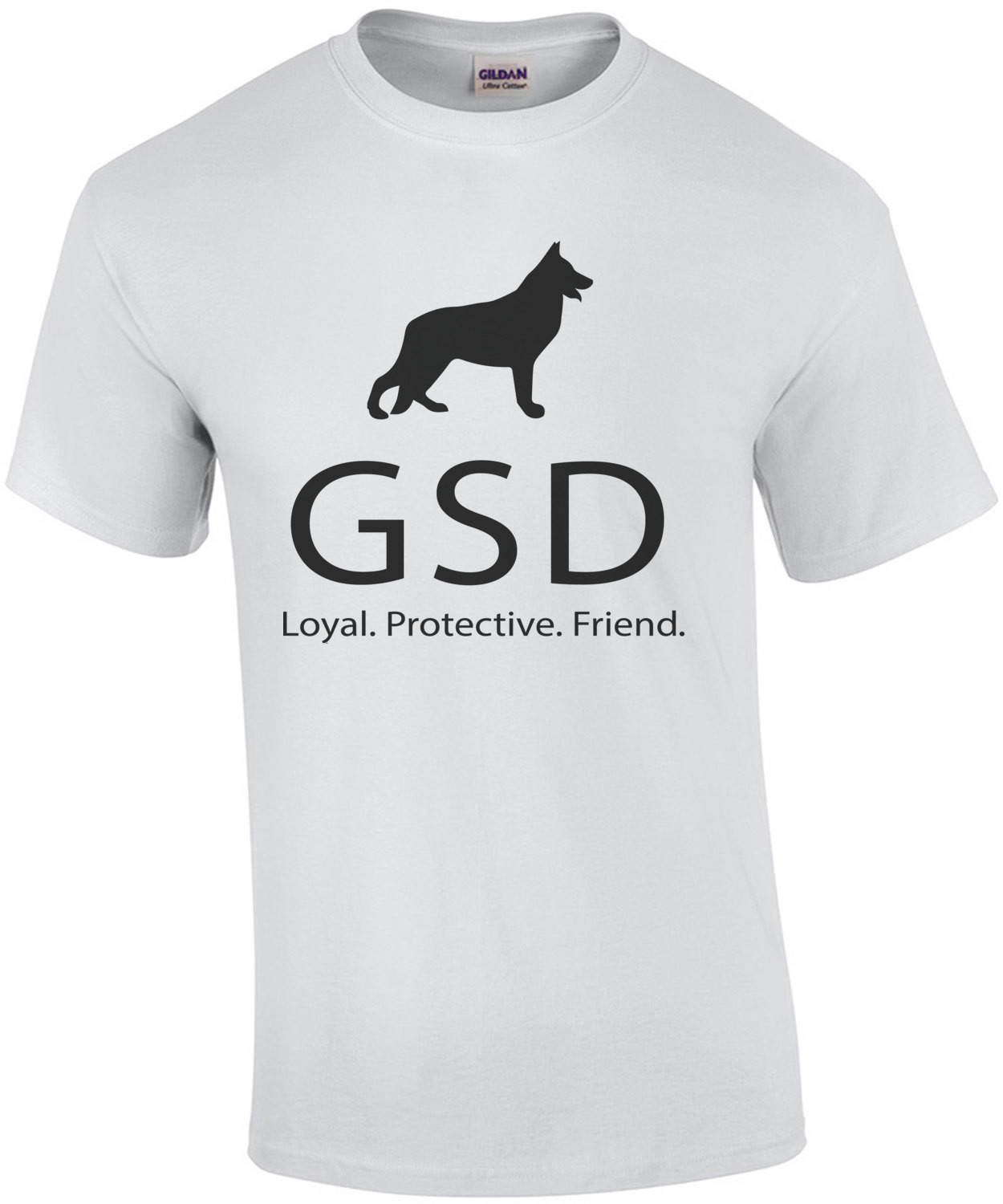 GSD Loyal Protective Friend - German Shepherd Dog