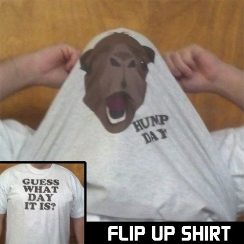 Guess What Day It Is Flip Up Shirt
