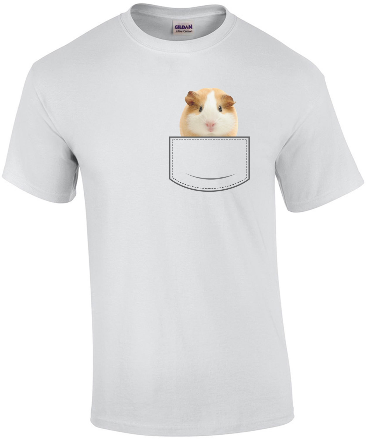 Guinea Pig in pocket - pocket pet t-shirt
