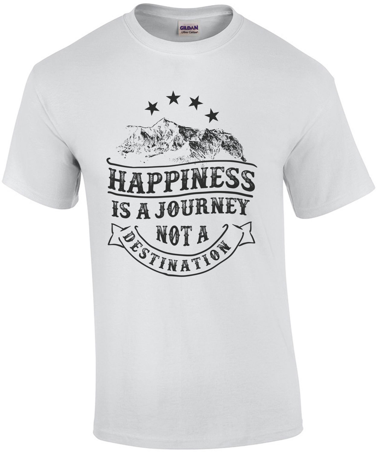 Happiness Is A Journey Not A Destination T-Shirt