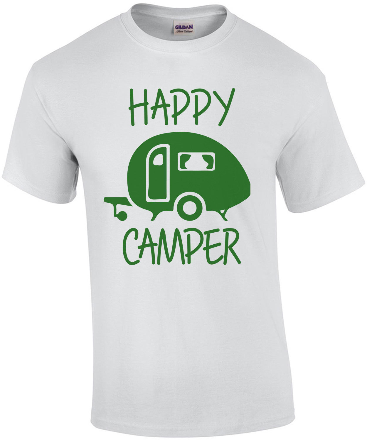 Happy Camper 2 - Funny RV Camping T-Shirt