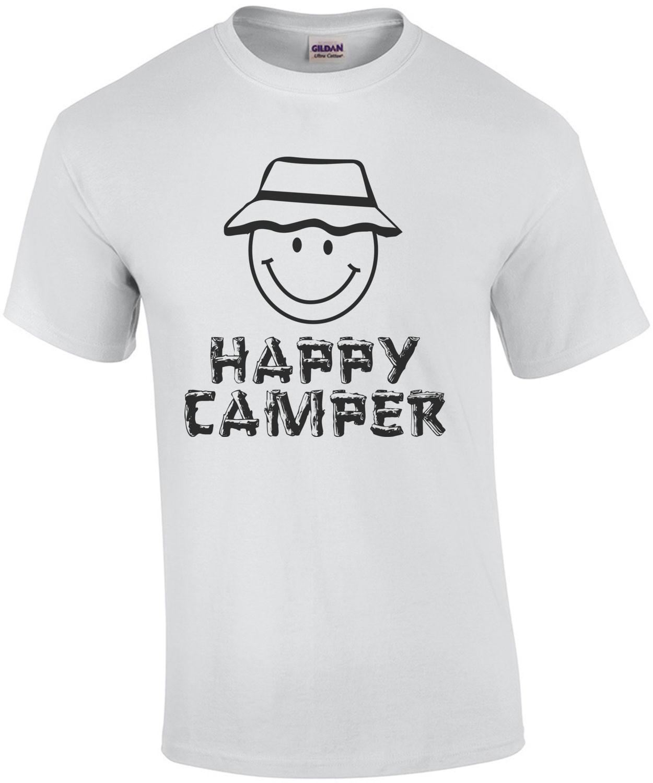 Happy Camper Funny T-Shirt
