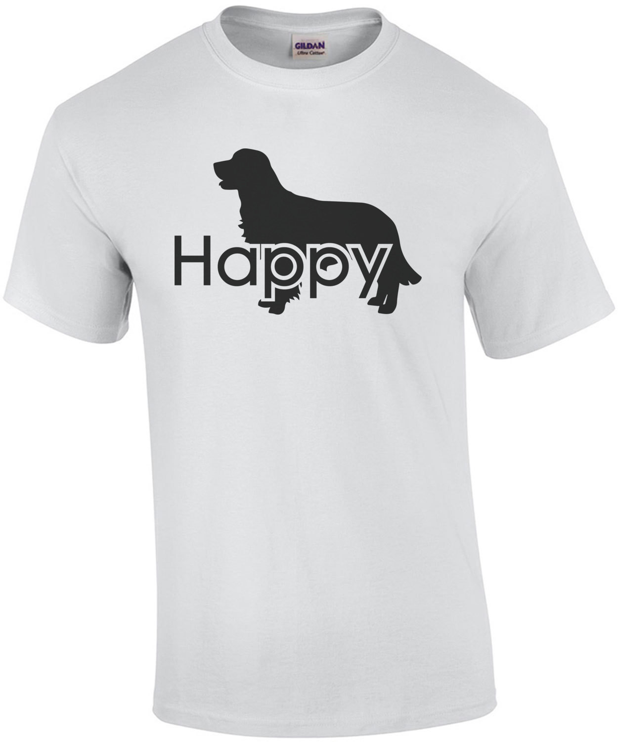 Happy Golden Retriever T-Shirt