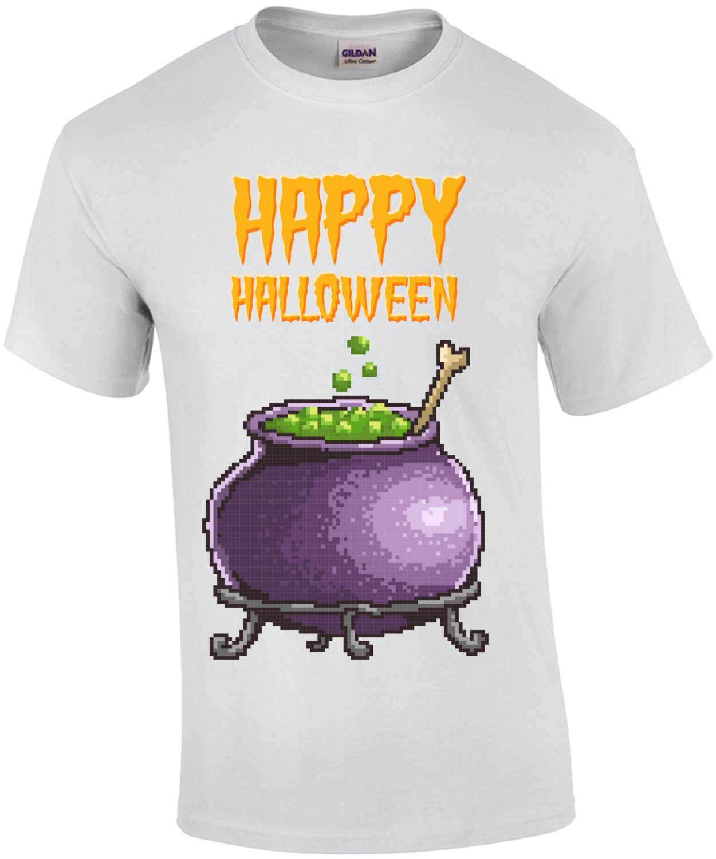 Happy Halloween Retro T-Shirt