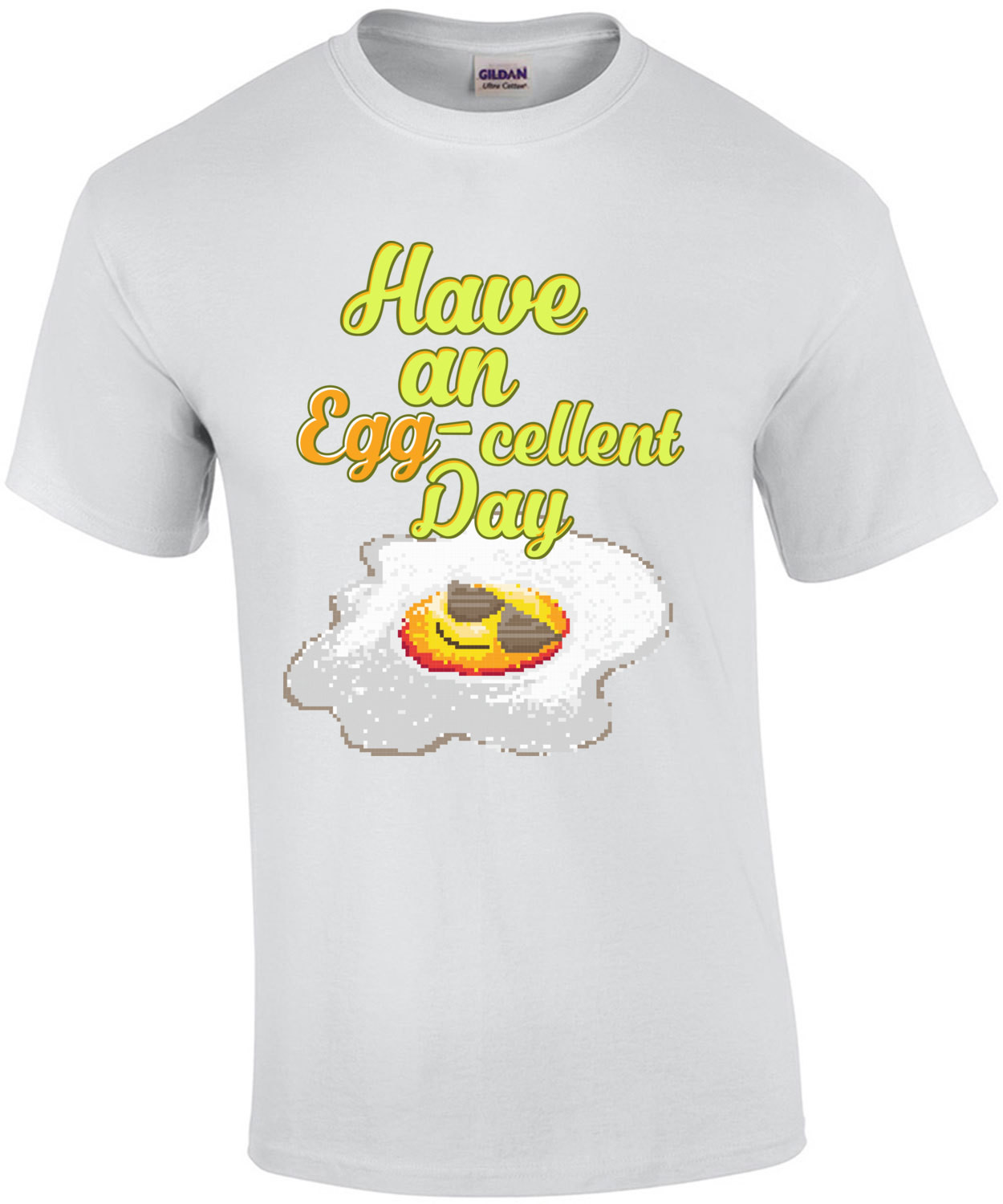 Have An Egg Cellent Day Retro Pun T-Shirt