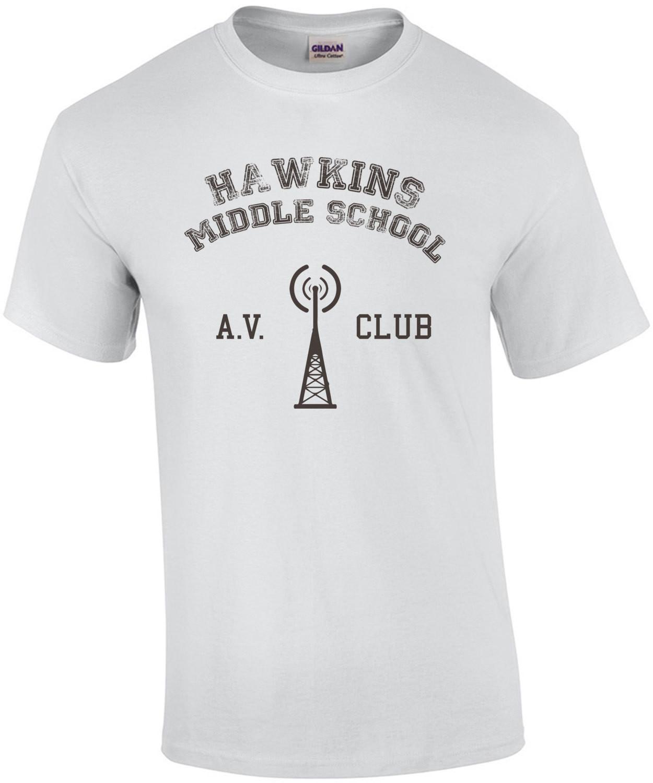 Hawkins Middle School - A.V. Club - Stranger Things
