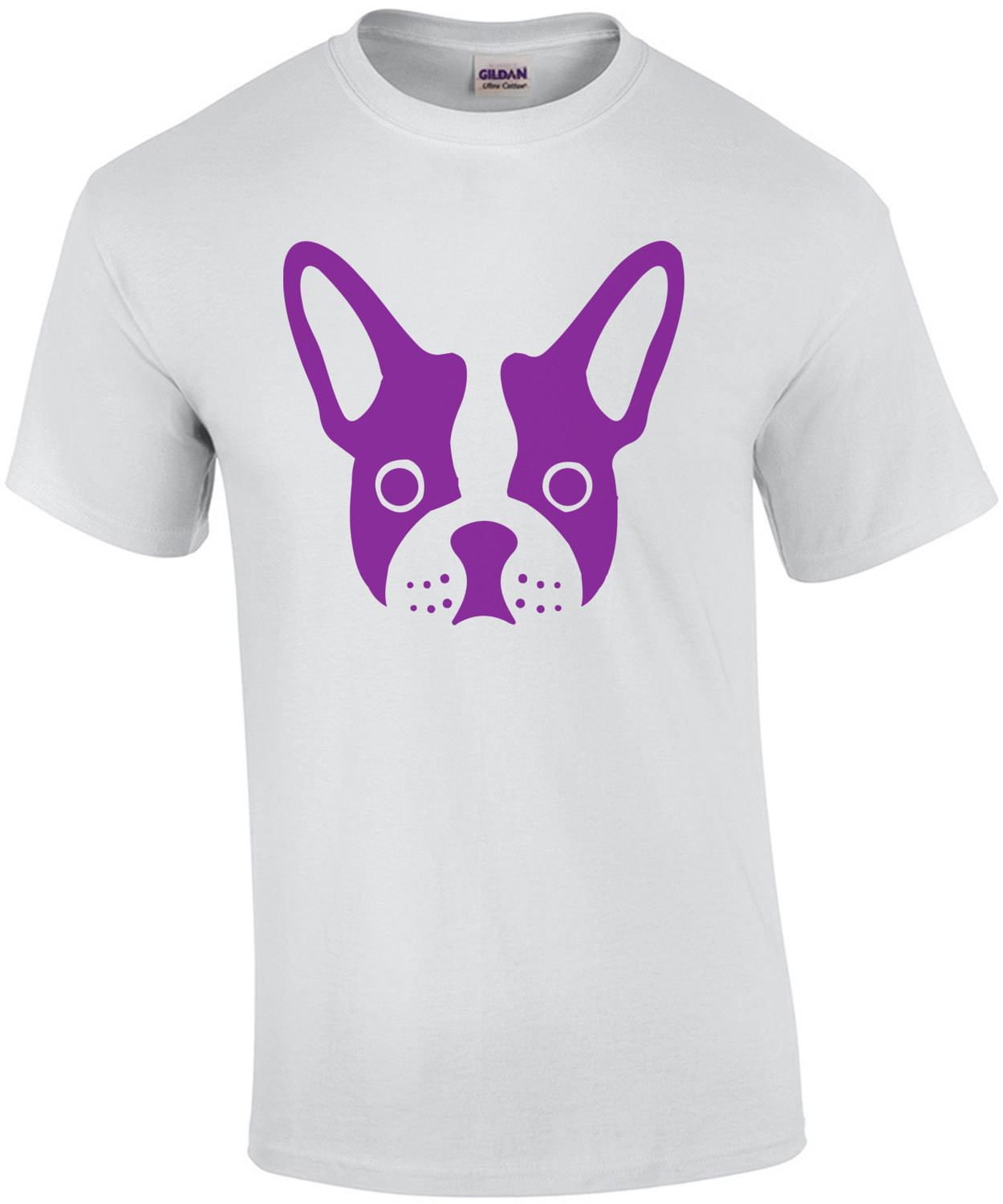 Head of a frenchie - Frenchie / French Bulldog t-shirt