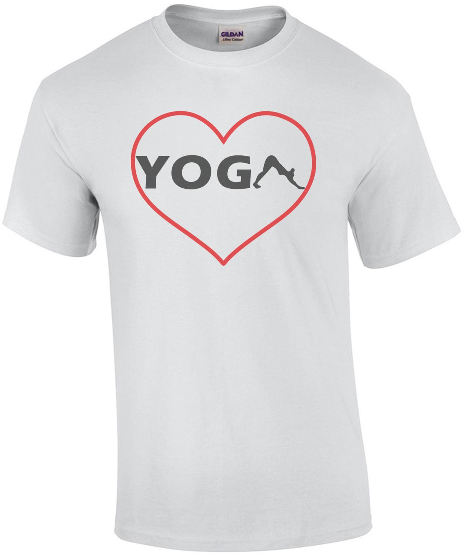 Heart Yoga - Love Yoga T-Shirt