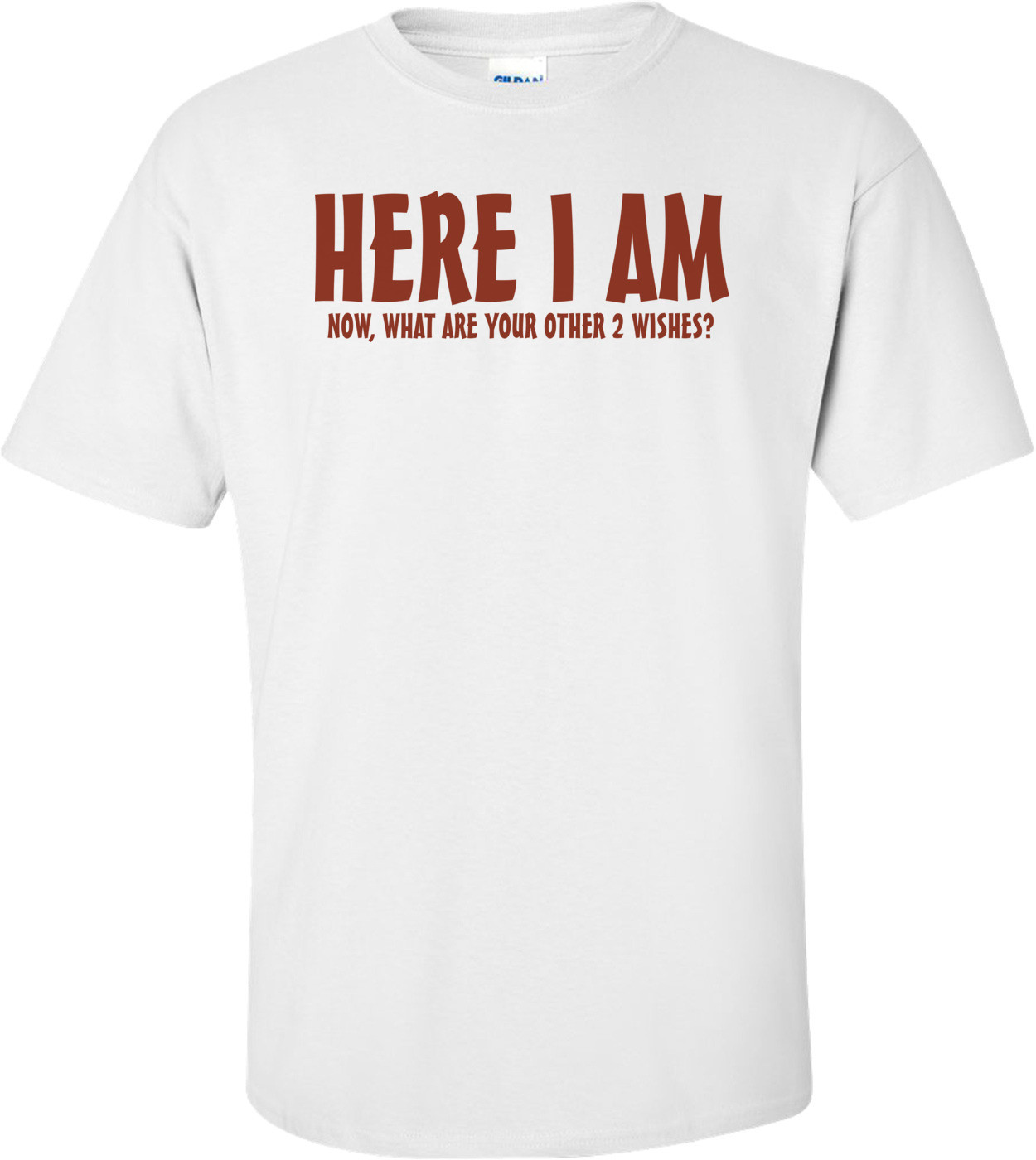 Here I Am Now What Are Your Other 2 Wishes T-shirt