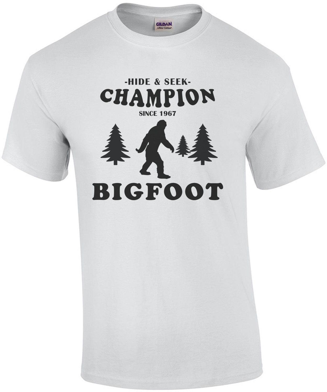 Hide & Seek Champion Bigfoot T-Shirt