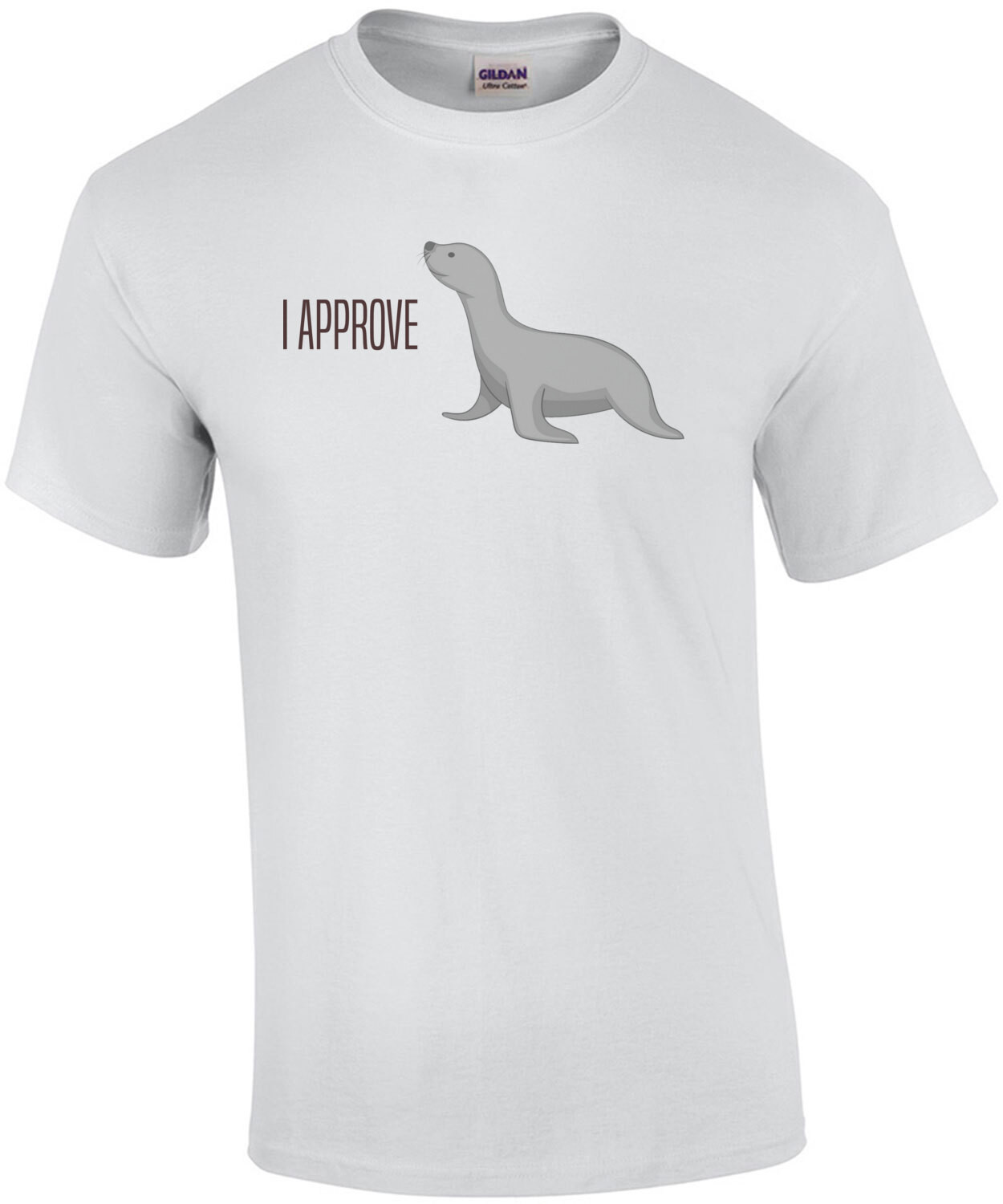 I approve - Seal of approval - funny pun - riddle t-shirt