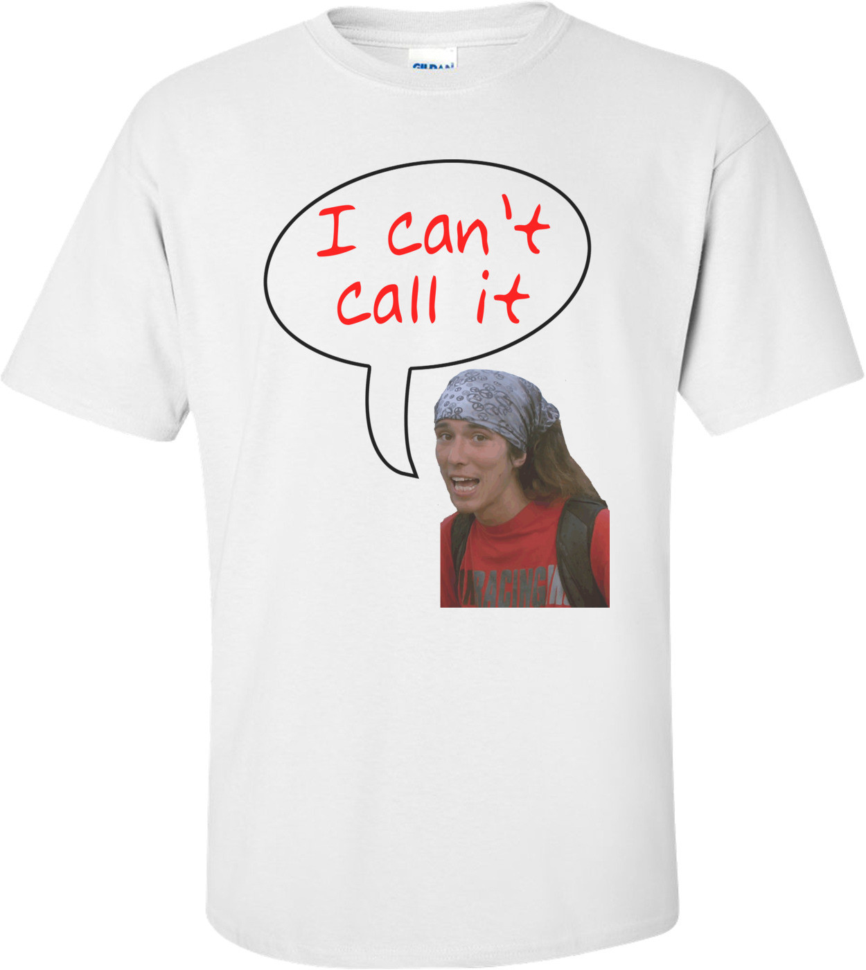 I Can't Call It Homeless Hitchhiker Hero Kai T-shirt