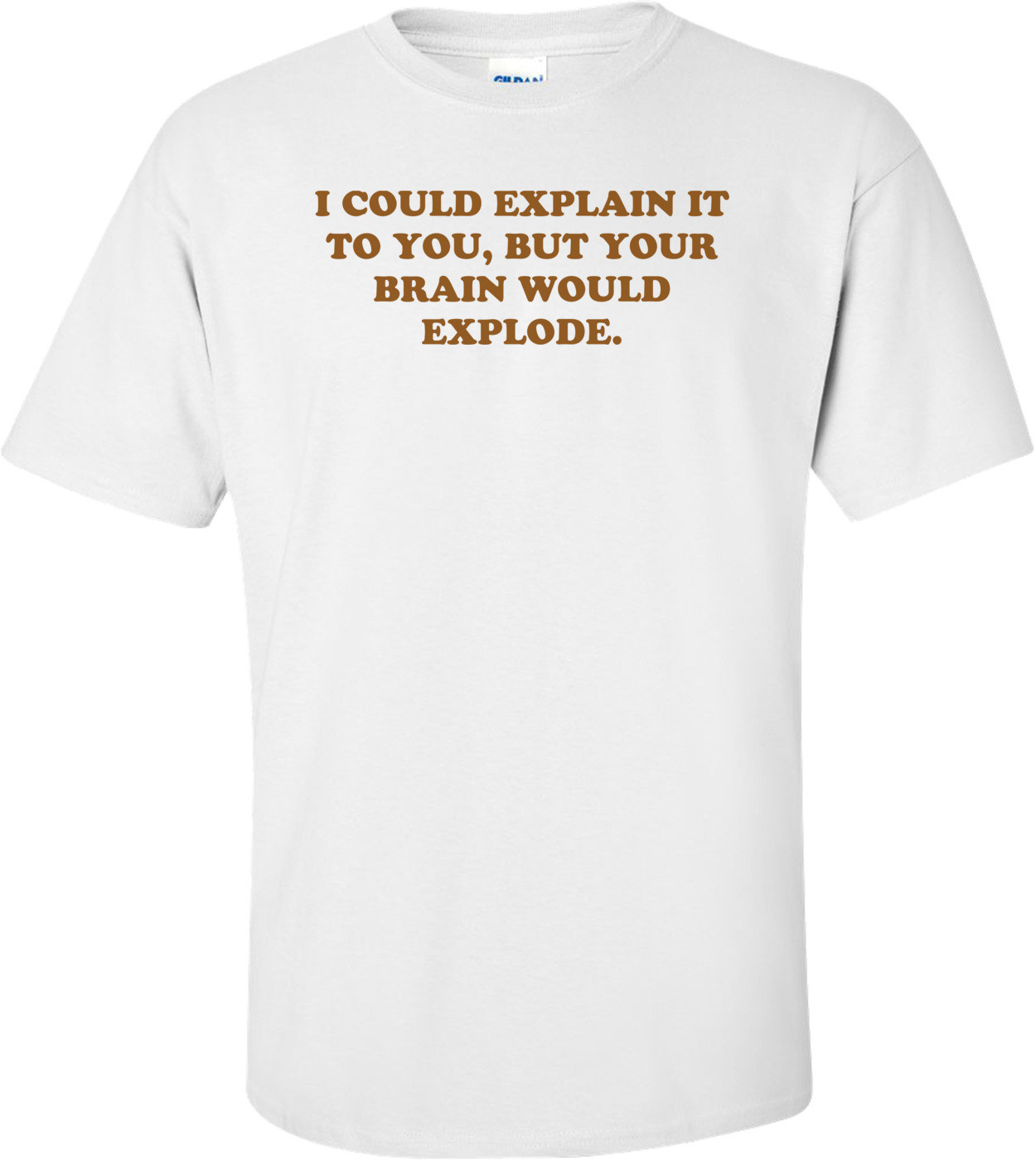 I COULD EXPLAIN IT TO YOU, BUT YOUR BRAIN WOULD EXPLODE. Shirt