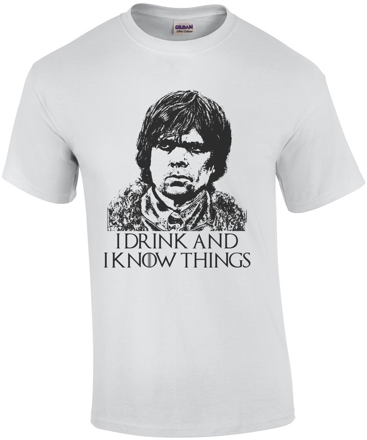 I Drink And I Know Things Tyrion Lannister Game of Thrones tee
