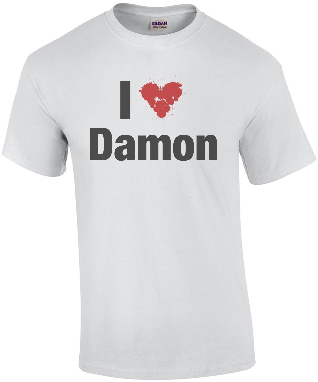 I Heart Damon T-Shirt