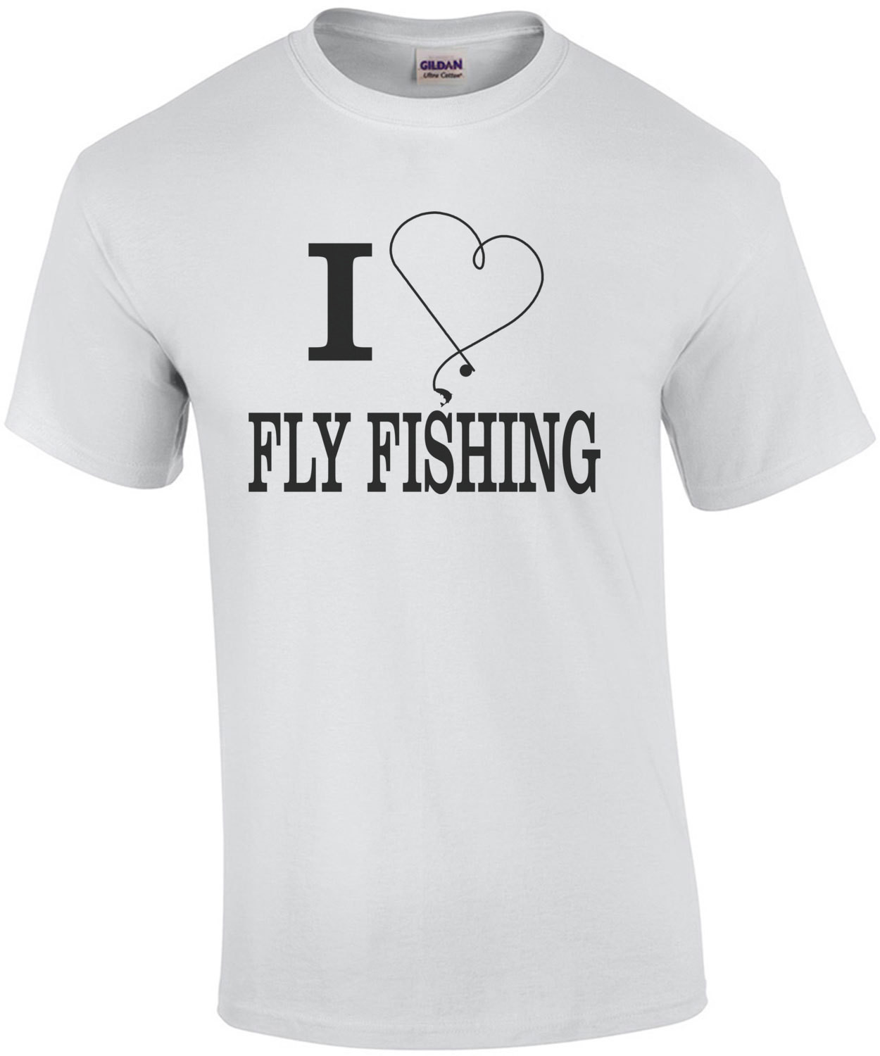 I Heart Fly Fishing T-Shirt