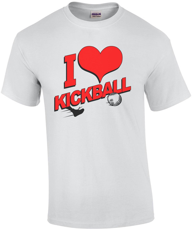 I Heart Kickball T-Shirt