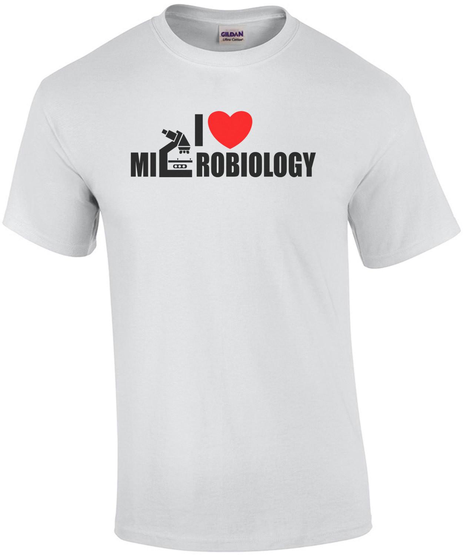 I Heart Microbiology T-Shirt