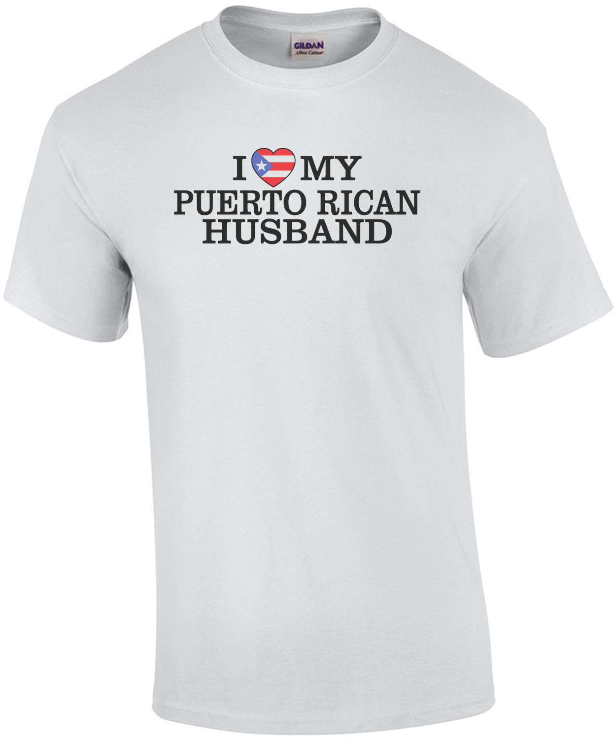 I Heart My Puerto Rican Husband T-Shirt