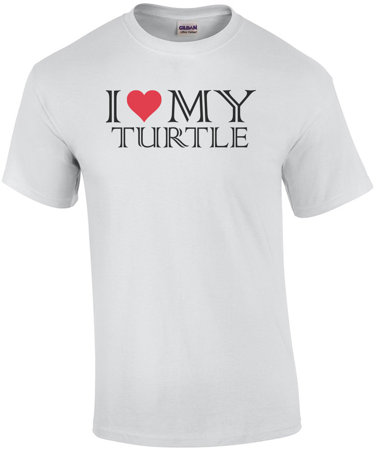 I love my turtle - turtle t-shirt