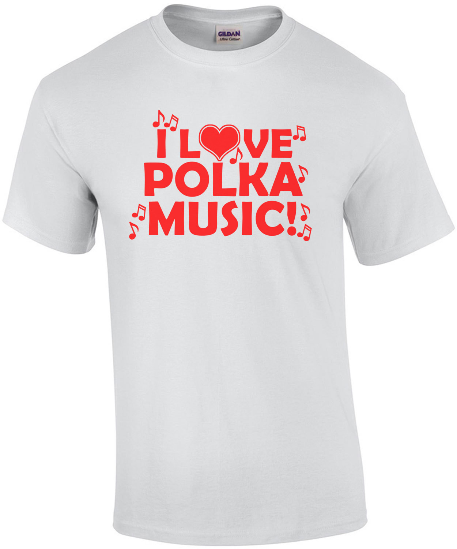 I Love Polk Music T-Shirt