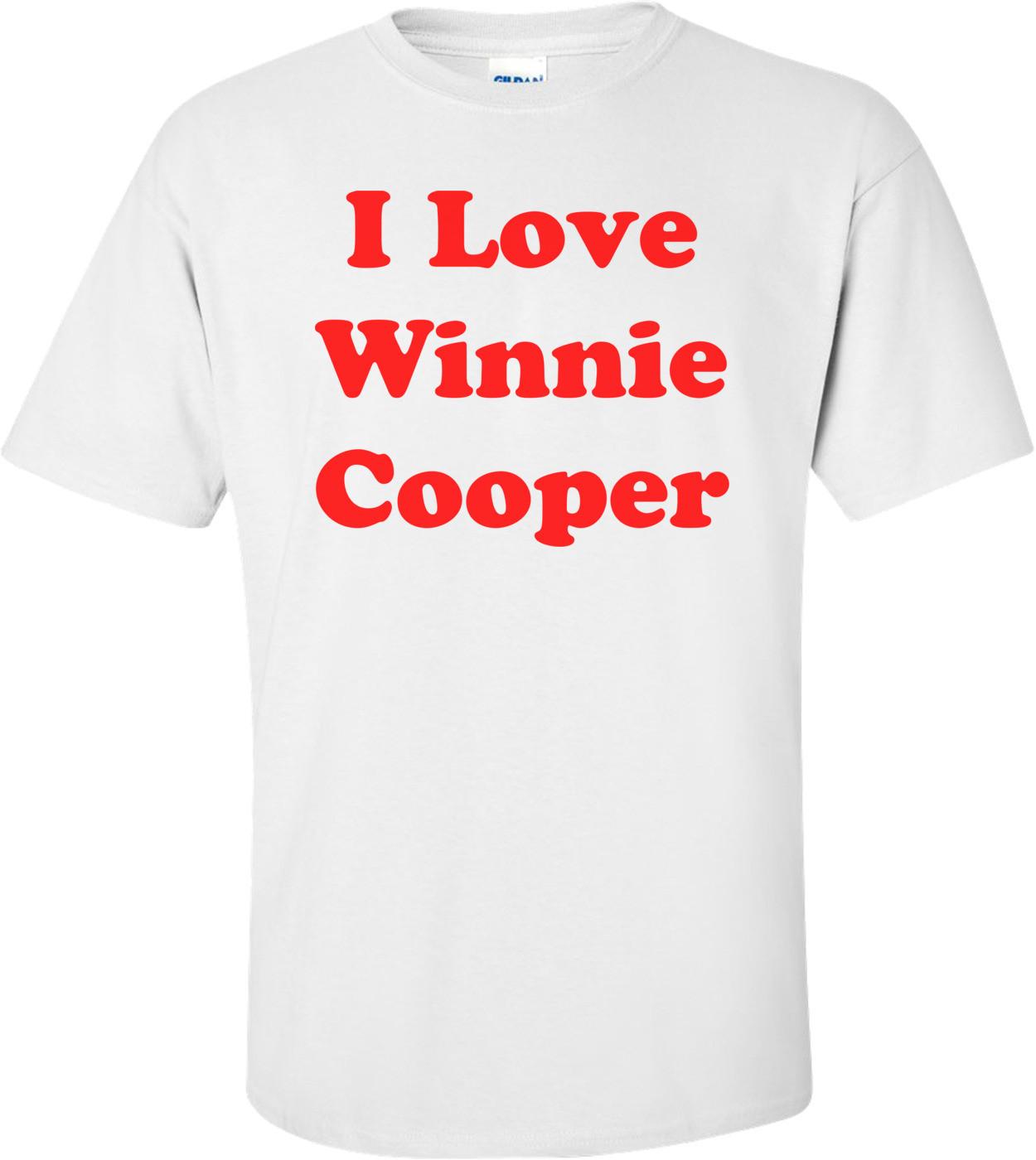 I Love Winnie Cooper Shirt