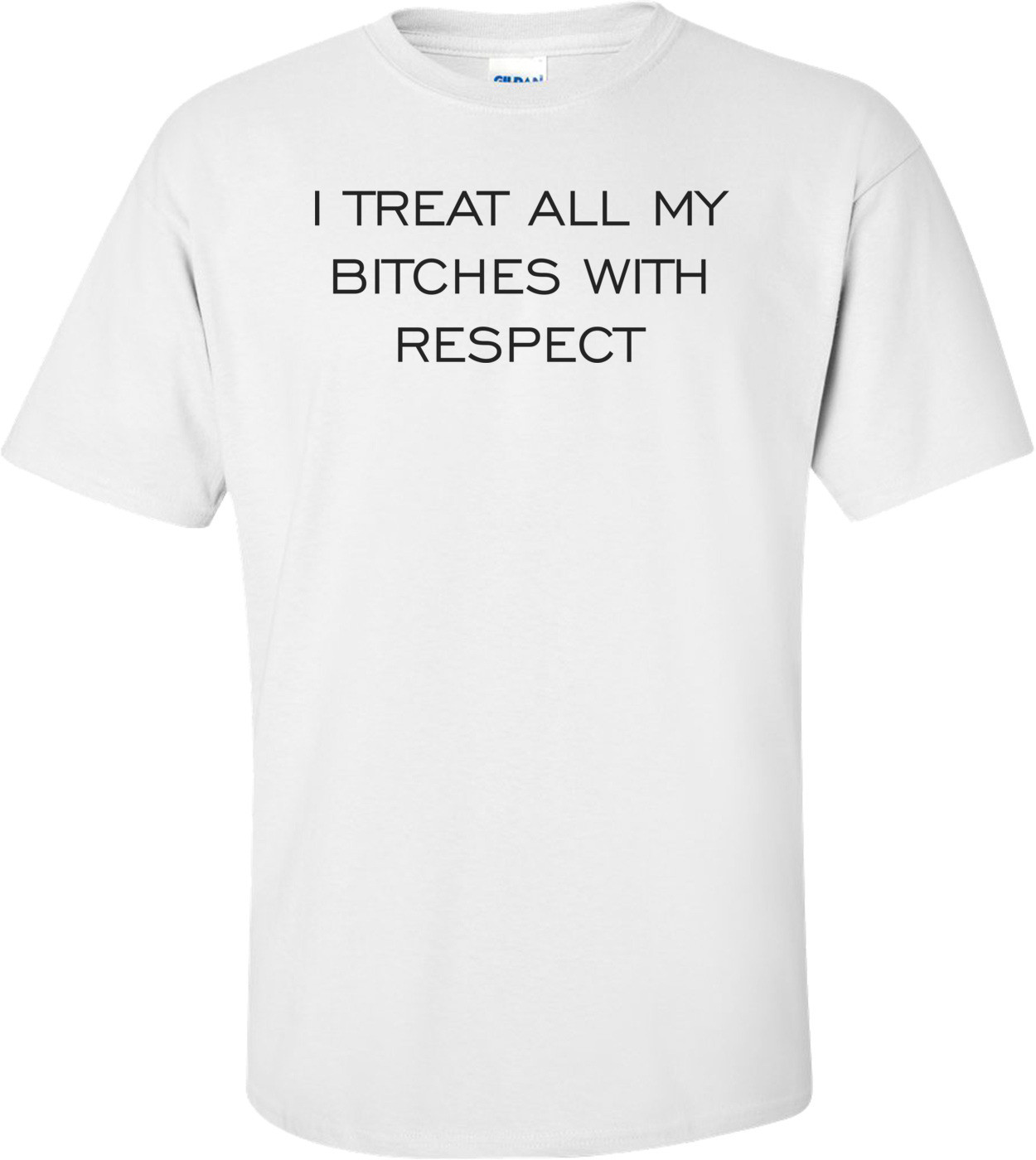 I TREAT ALL MY BITCHES WITH RESPECT Shirt
