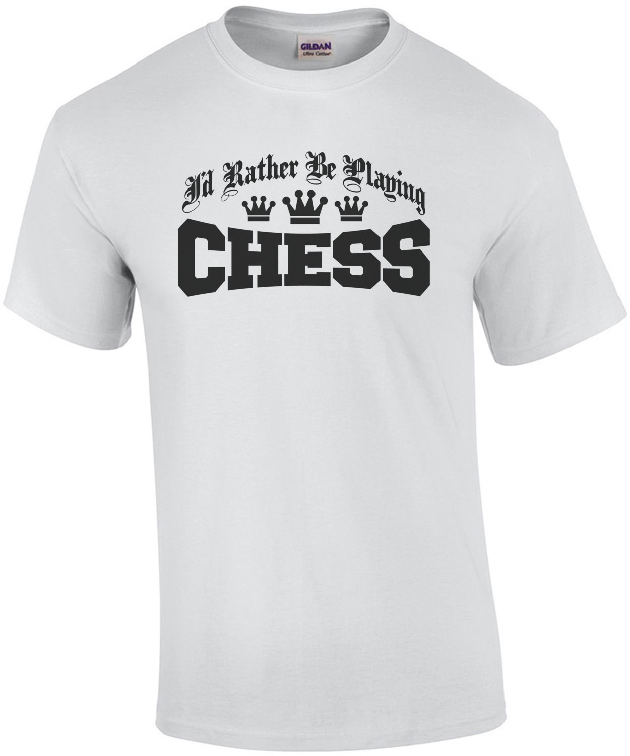 I'd Rather Be Playing Chess T-Shirt
