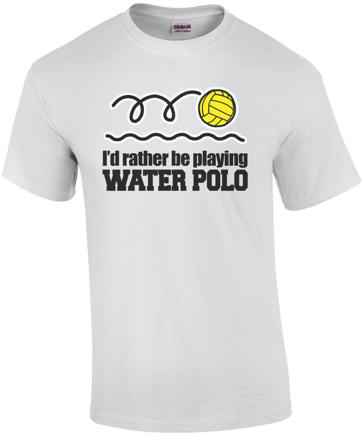 I'd Rather Be Playing Water Polo T-Shirt