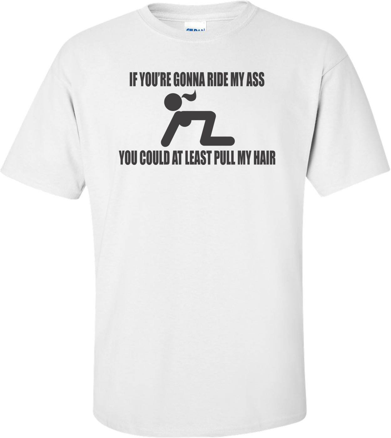 If You're Gonna Ride My Ass You Could At Least Pull My Hair T-shirt