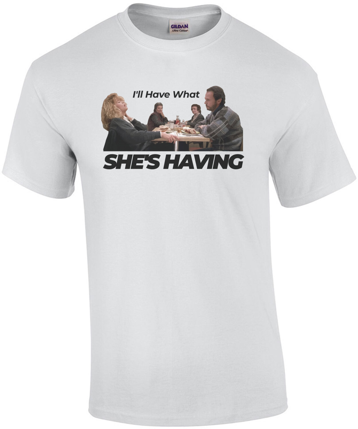 I'll have what she's having - When Harry Met Sally - 80's T-Shirt